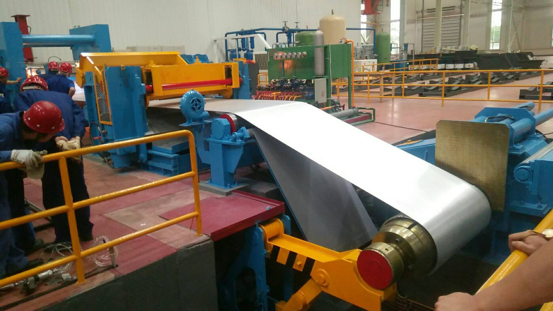 Aluminum strip casting mill
