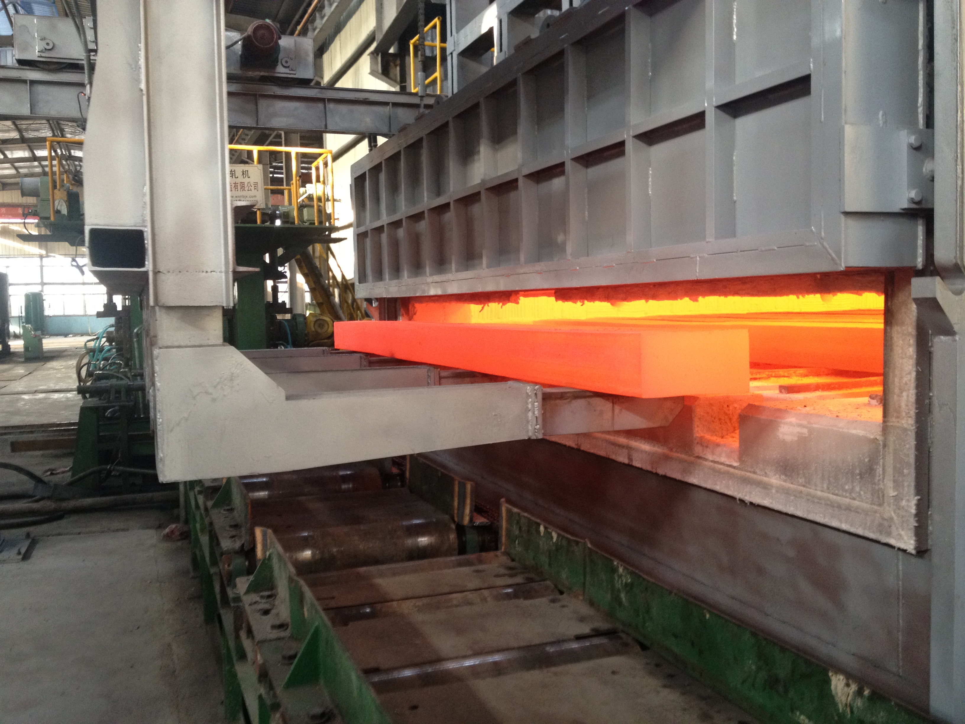 Copper strip rolling mill